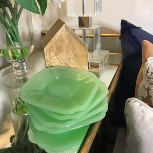 Hearth and hand jade appetizer plates set of 4